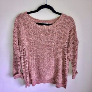 Madewell Knit Sweater 3/4 Sleeve Size Large